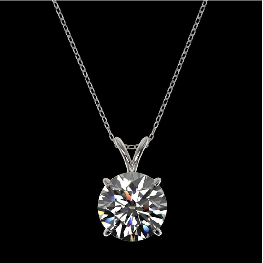2.53 CTW Certified H-SI/I Quality Diamond Solitaire - 3