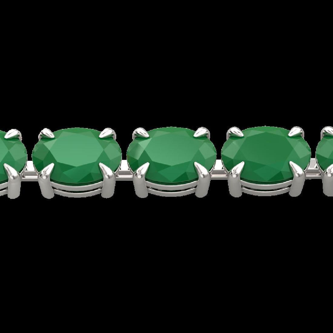 29 CTW Emerald Eternity Designer Inspired Tennis