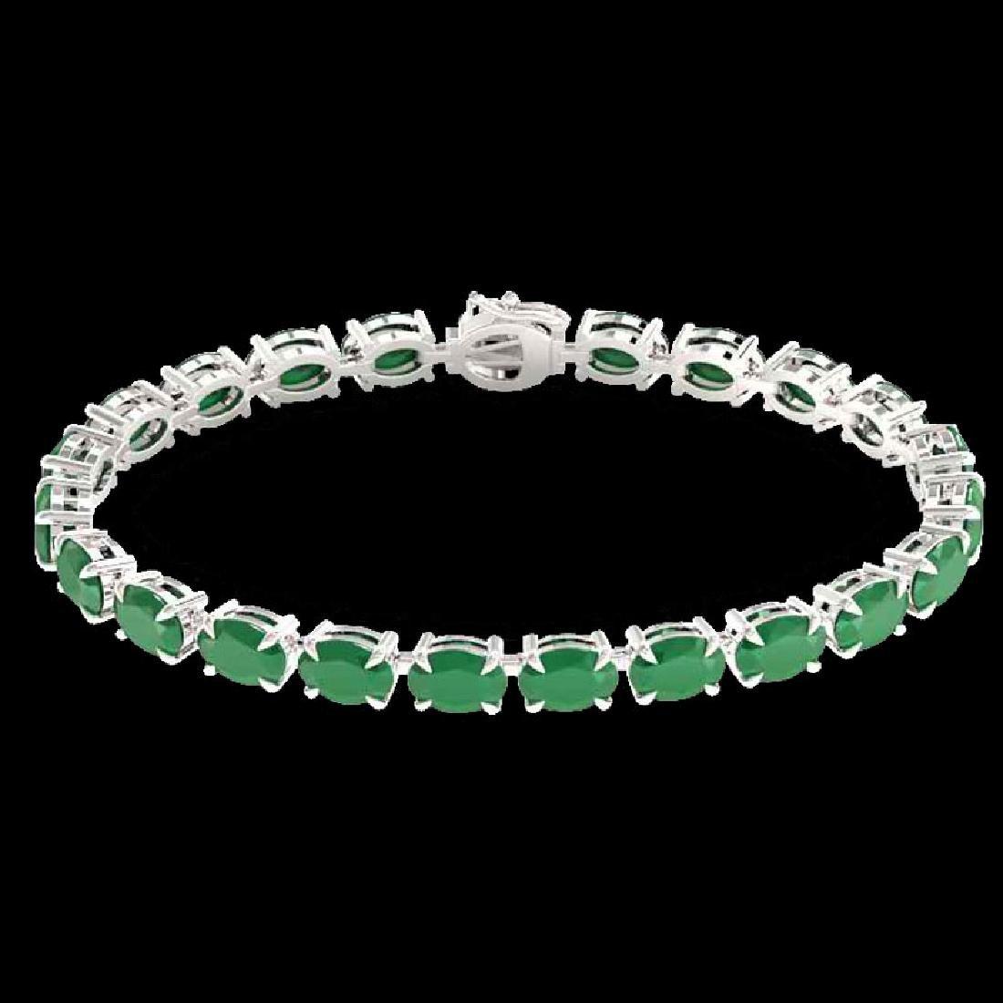 29 CTW Emerald Eternity Designer Inspired Tennis - 2