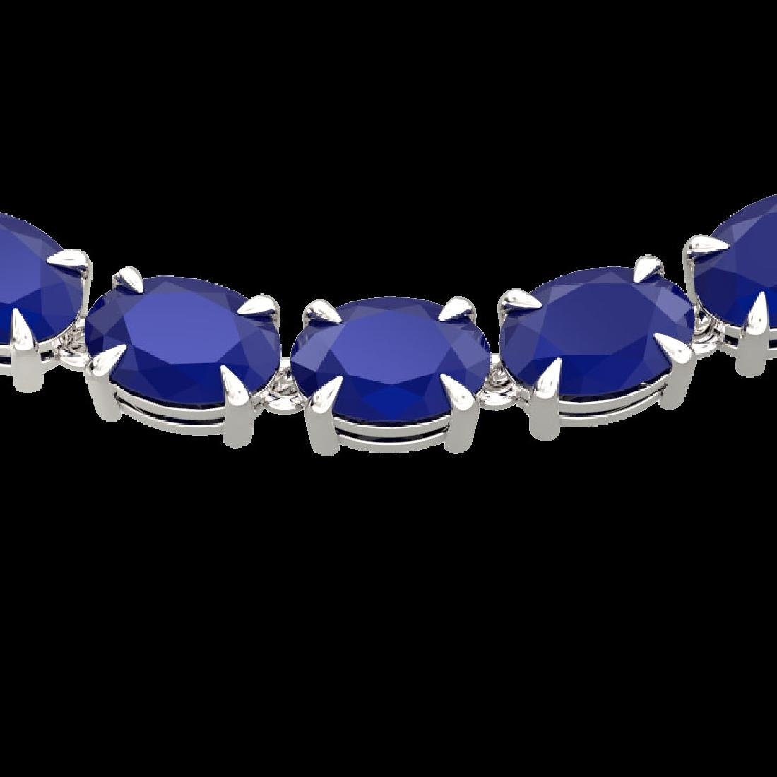 68 CTW Sapphire Eternity Designer Inspired Tennis