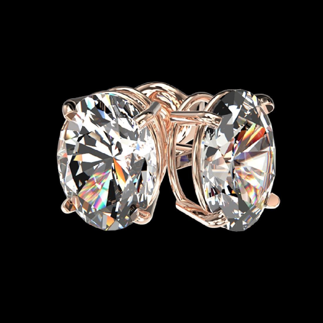 2 CTW Certified VS/SI Quality Oval Diamond Solitaire - 3