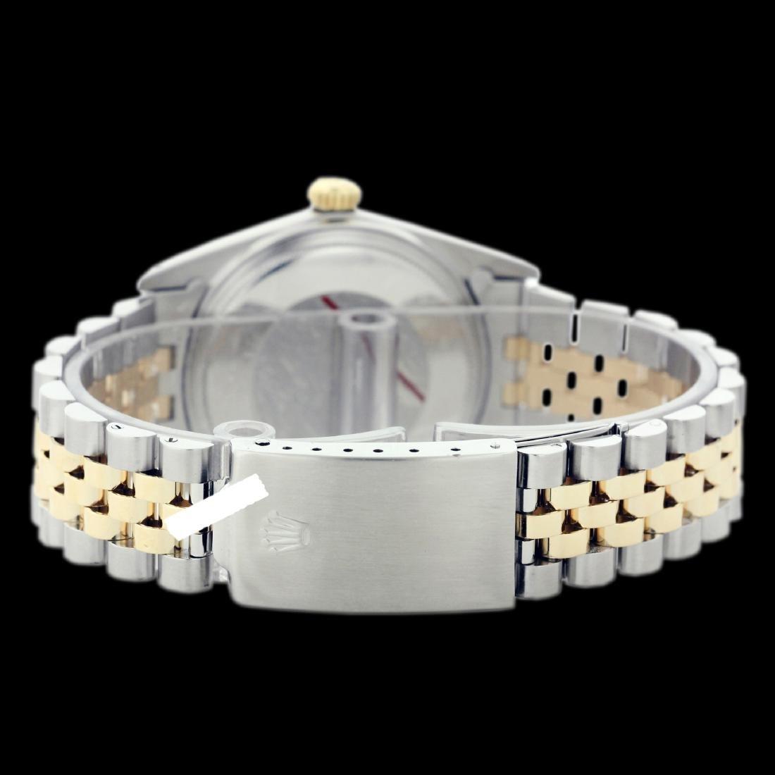 Rolex Men's Two Tone 14K Gold/SS, QuickSet, Diamond - 3