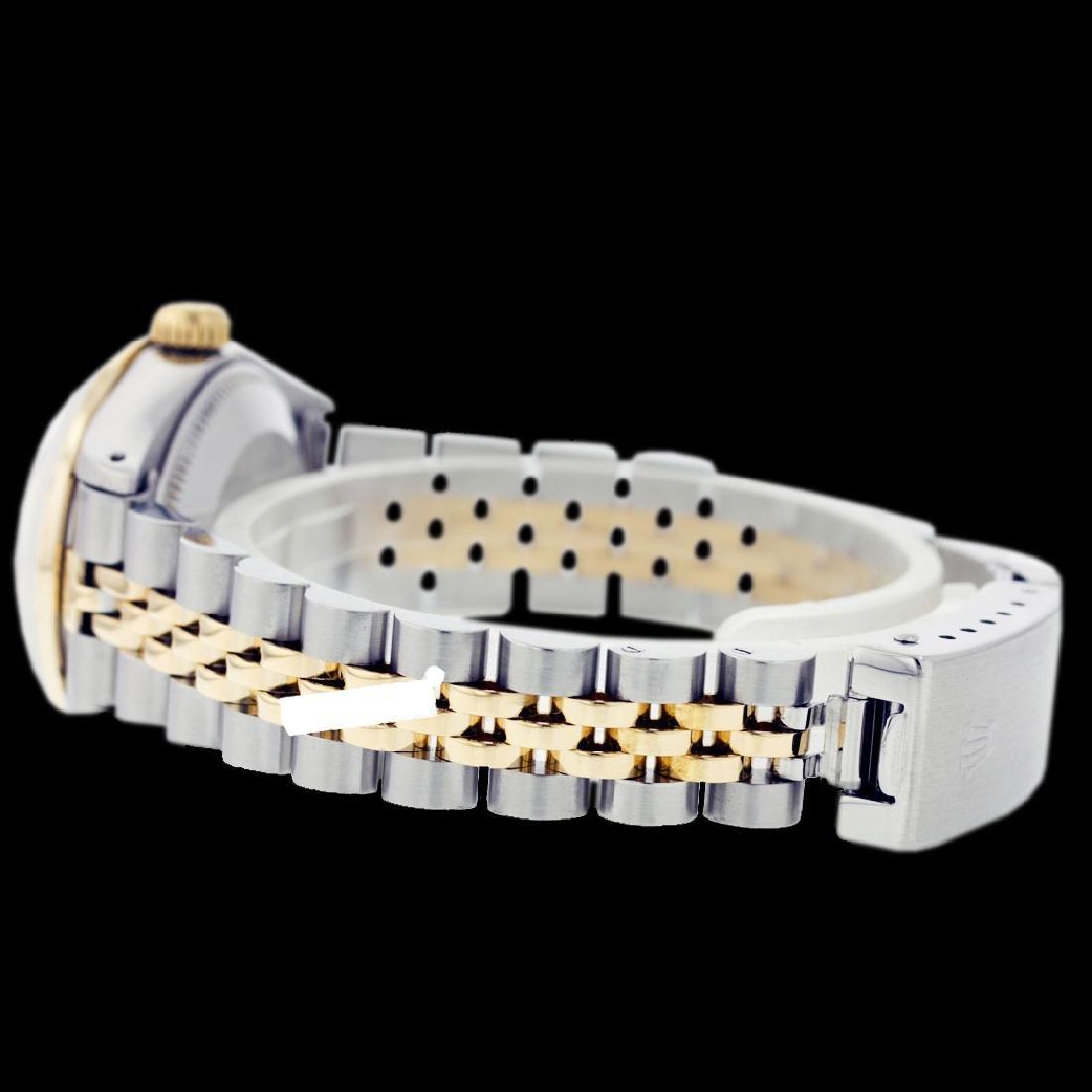Rolex Ladies Two Tone 14K Gold/ss, Diam Dial & - 4