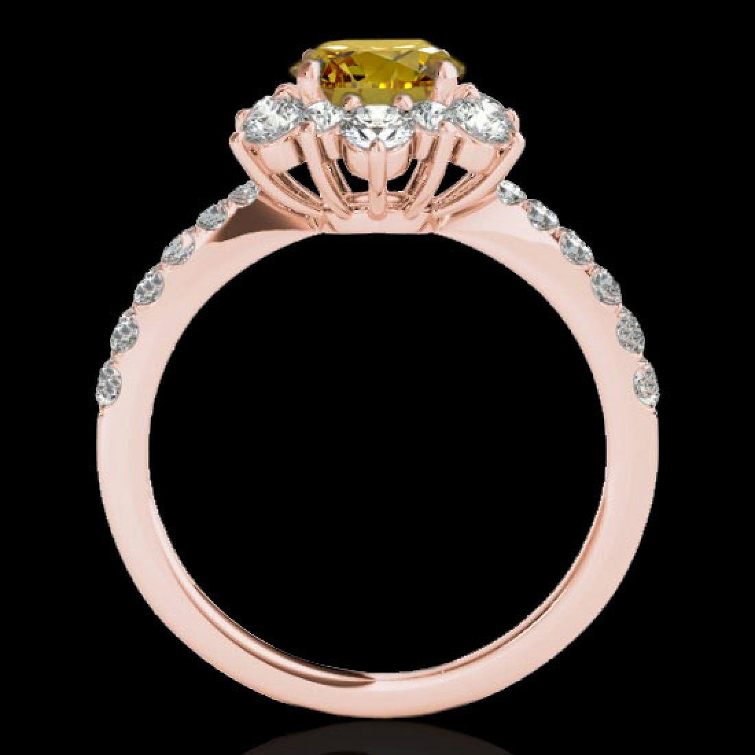 2.19 CTW Certified SI/I Fancy Intense Yellow Diamond - 2