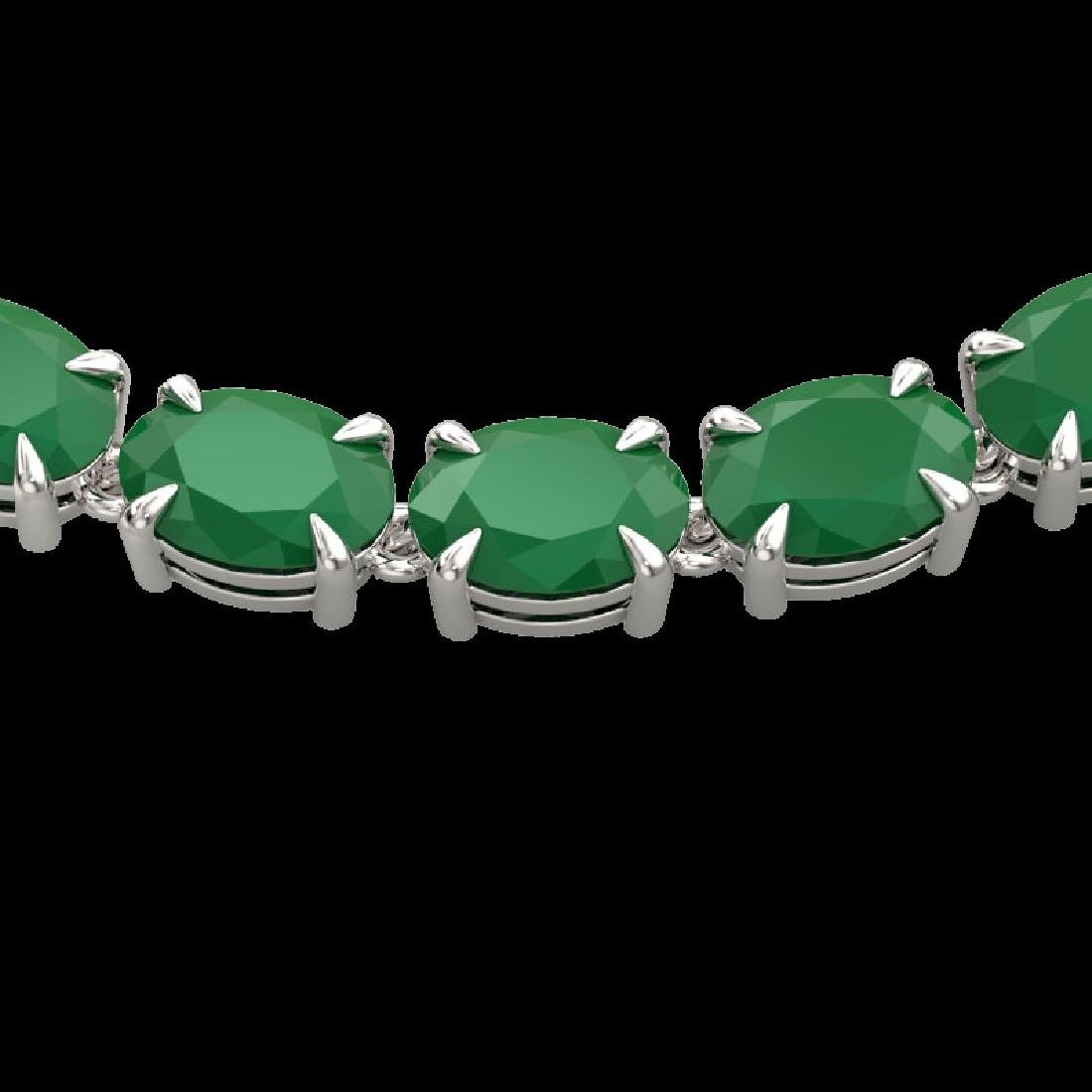 68 CTW Emerald Eternity Designer Inspired Tennis