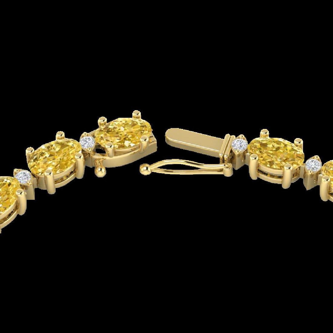 46.5 CTW Citrine & VS/SI Certified Diamond Eternity