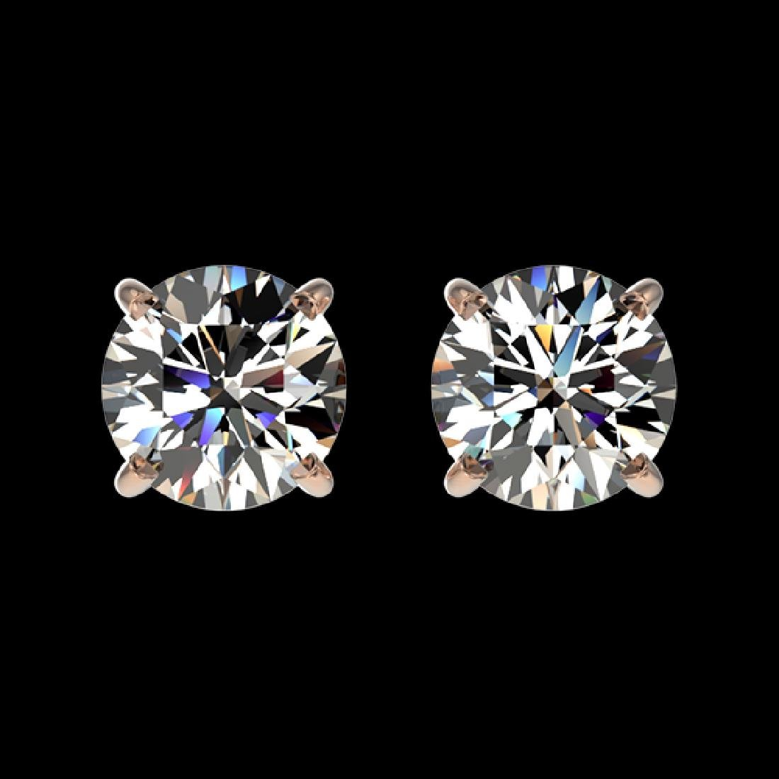1.04 CTW Certified H-SI/I Quality Diamond Solitaire