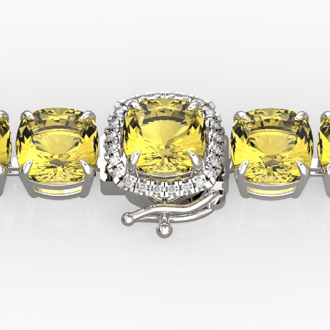 35 CTW Citrine & Micro VS/SI Diamond Halo Designer