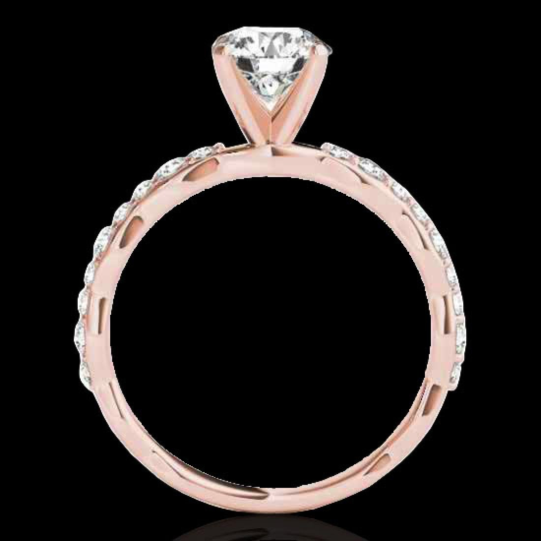 1.4 CTW H-SI/I Certified Diamond Solitaire Ring 10K - 2