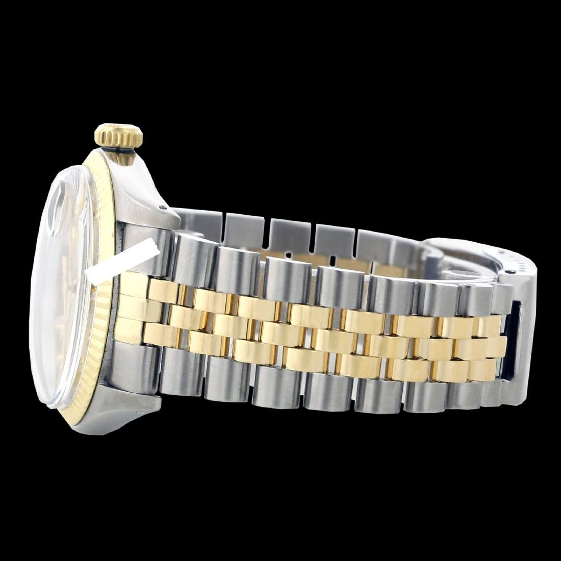 Rolex Ladies Two Tone 14K Gold/SS, Diamond Dial with - 2