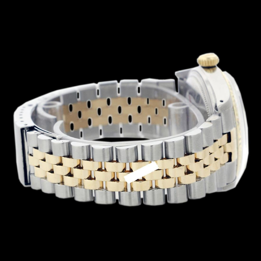Rolex Ladies Two Tone 14K Gold/SS, Diamond Dial with - 4