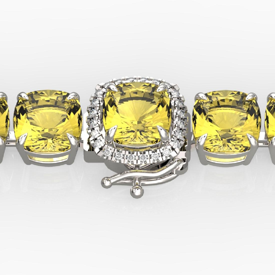 35 CTW Citrine & Micro VS/SI Diamond Halo Designer