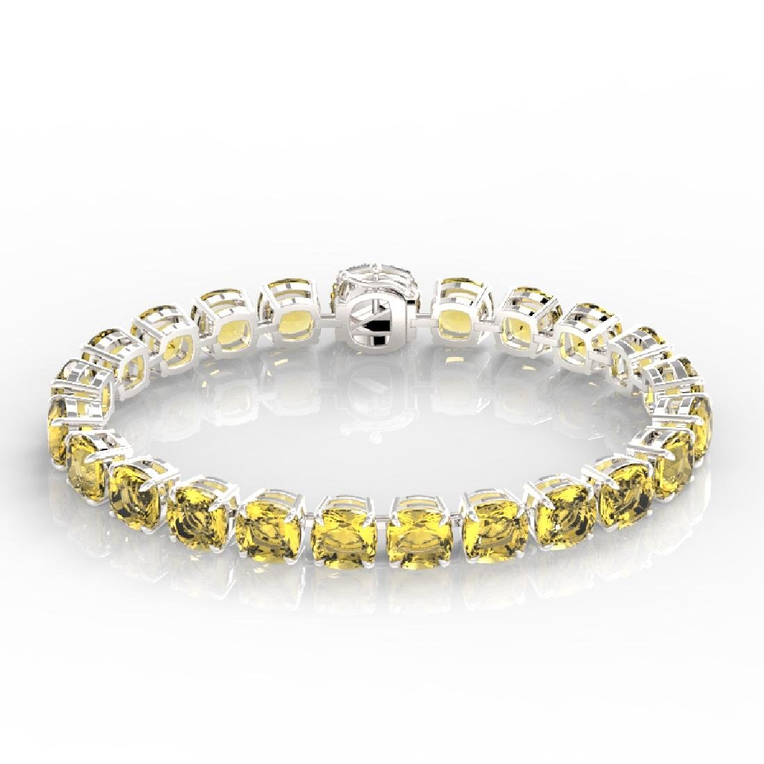 35 CTW Citrine & Micro VS/SI Diamond Halo Designer - 2