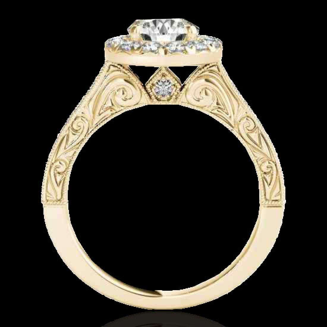 2.22 CTW H-SI/I Certified Diamond Solitaire Halo Ring - 2