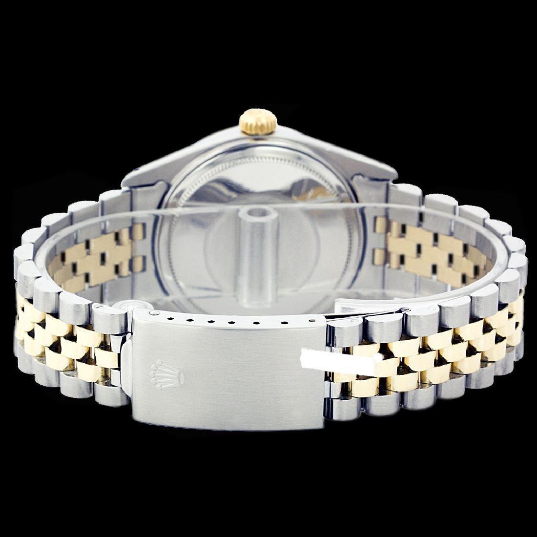 Rolex Men's Two Tone 14K Gold/SS, QuickSet, Diam Dial & - 3