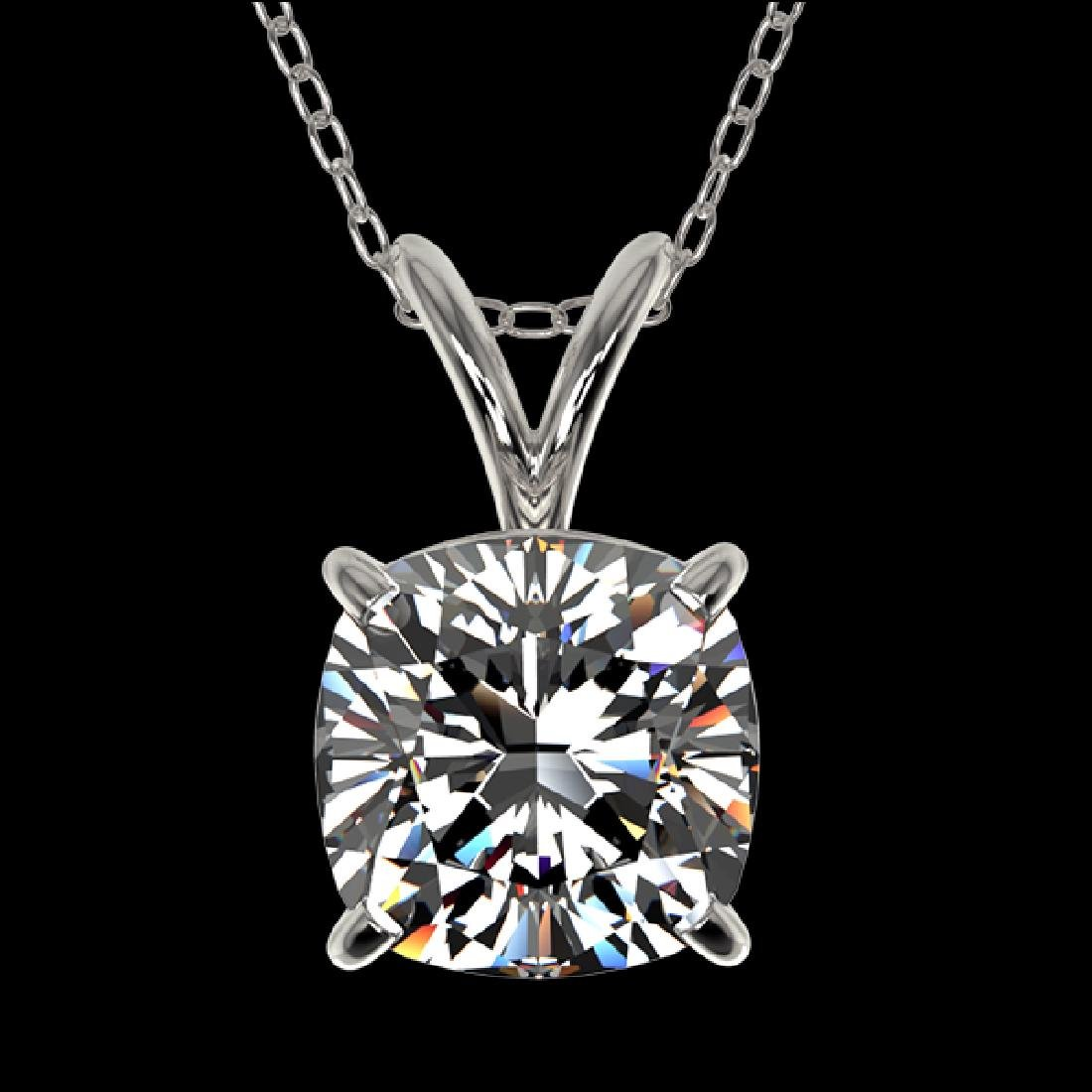 1.25 CTW Certified VS/SI Quality Cushion Cut Diamond