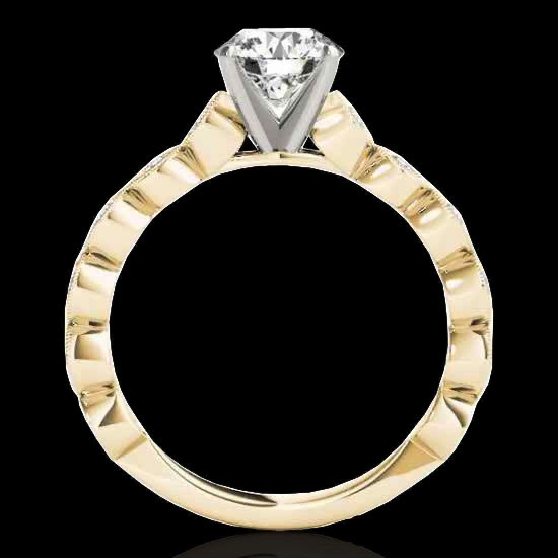 1.75 CTW H-SI/I Certified Diamond Solitaire Ring 10K - 2