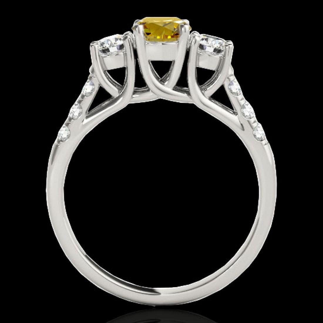 3.25 CTW Certified SI/I Fancy Intense Yellow Diamond 3 - 2