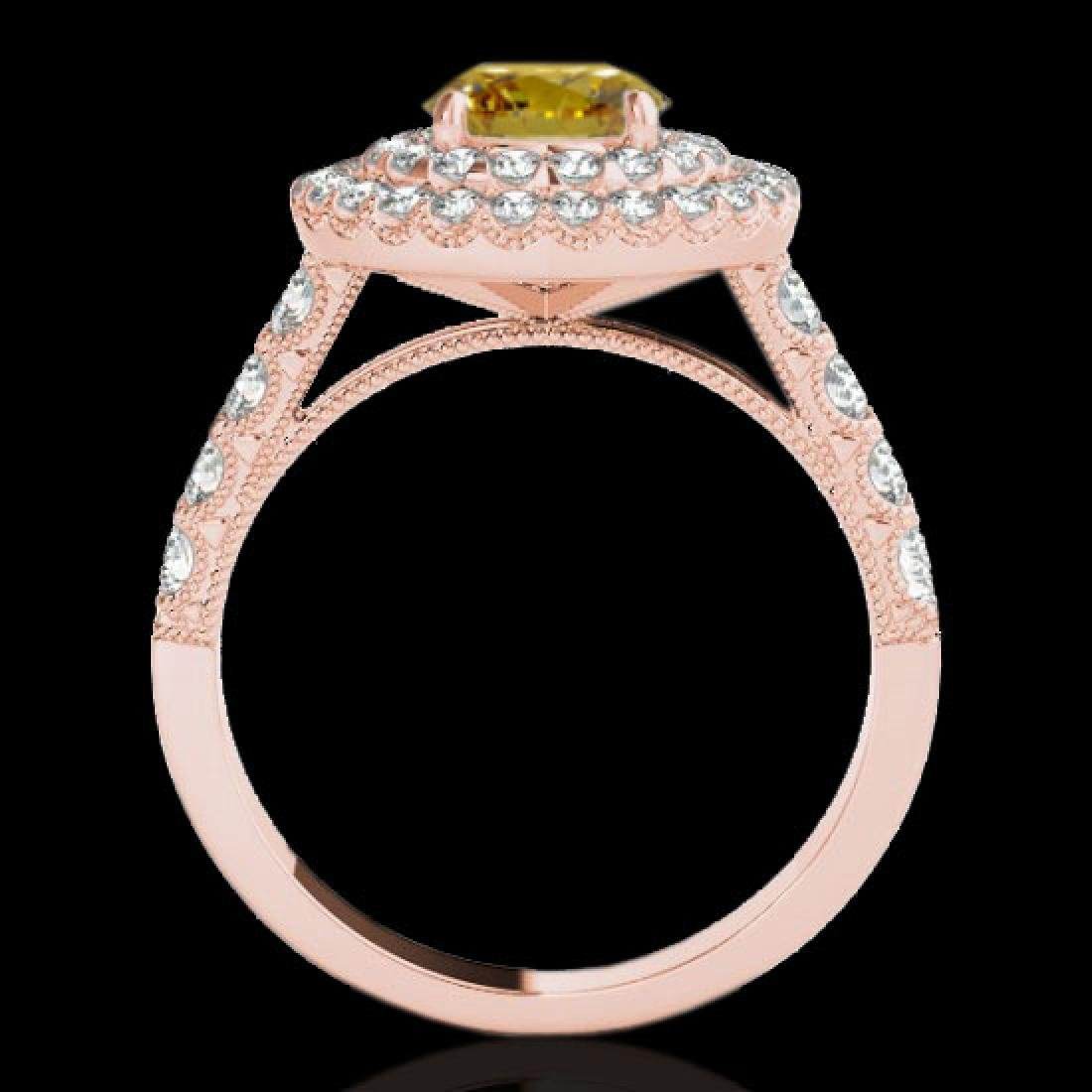 2.25 CTW Certified SI/I Fancy Intense Yellow Diamond - 2