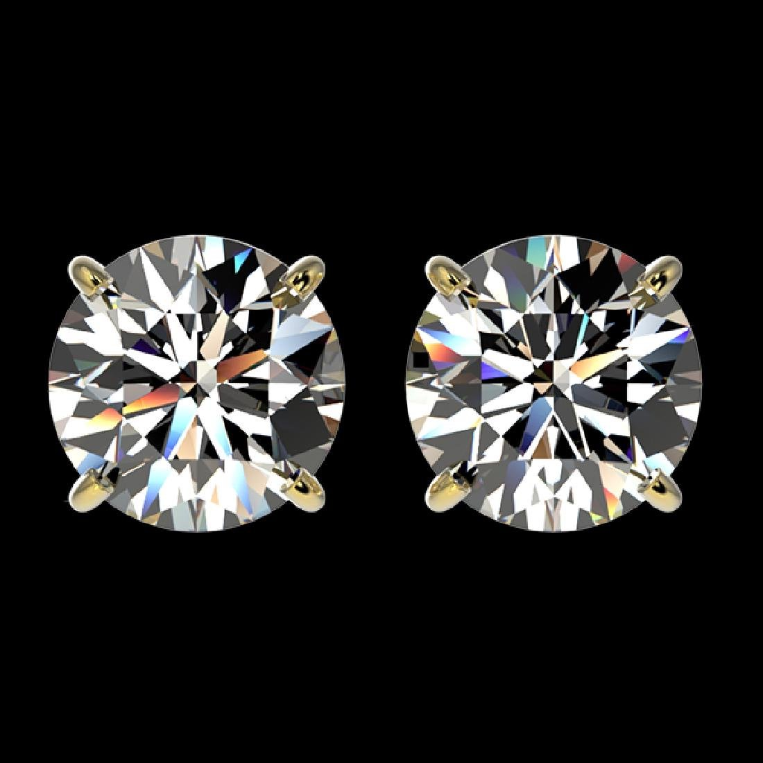 1.94 CTW Certified H-SI/I Quality Diamond Solitaire