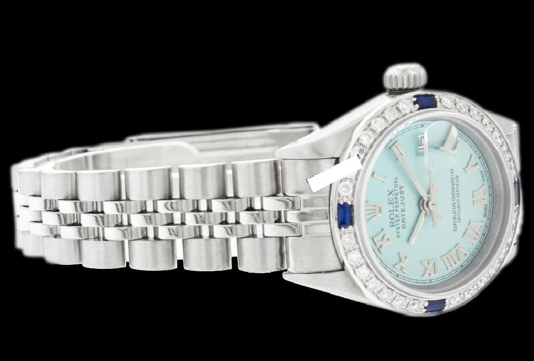 Rolex Ladies Stainless Steel, Roman Dial with - 3