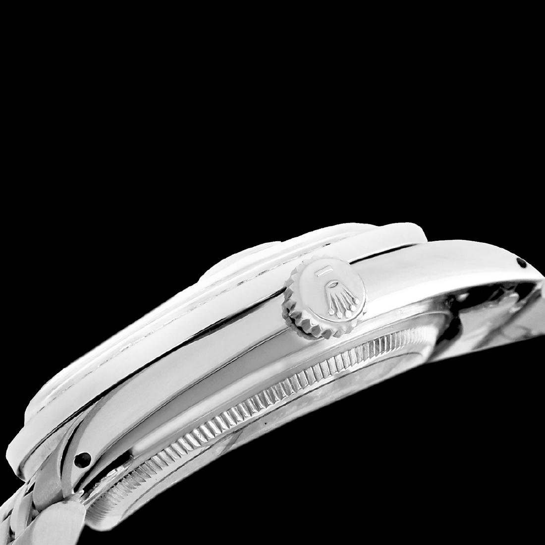 Rolex Ladies Stainless Steel, Roman Dial with - 4