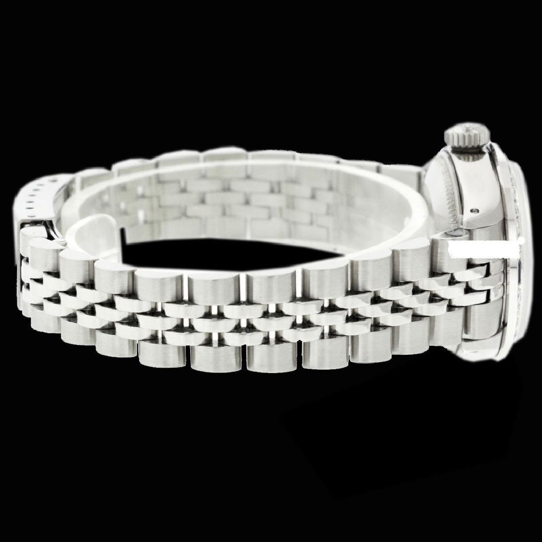 Rolex Men's Stainless Steel, QuickSet, Diam Dial & - 2