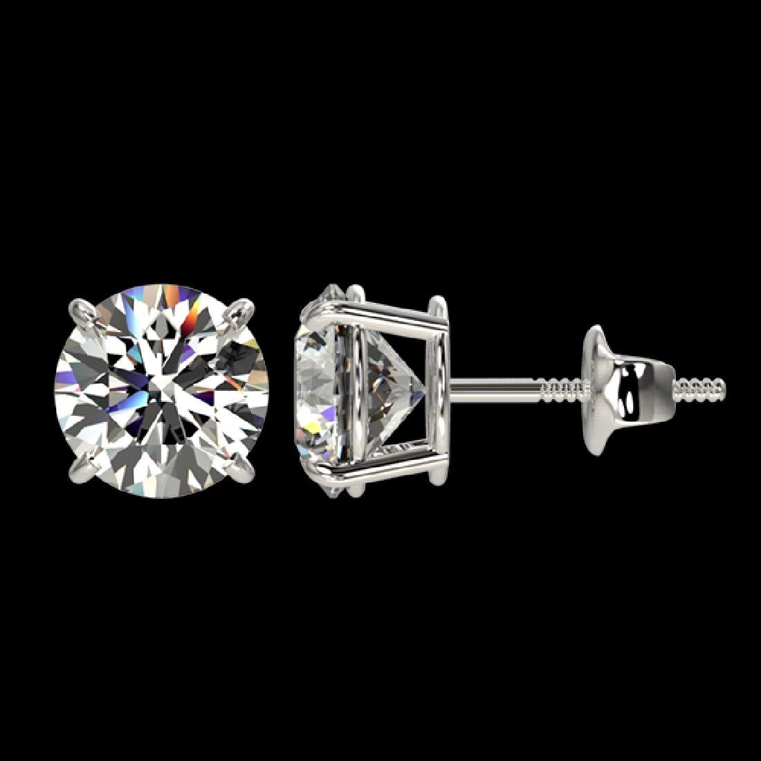 2.05 CTW Certified H-SI/I Quality Diamond Solitaire - 2