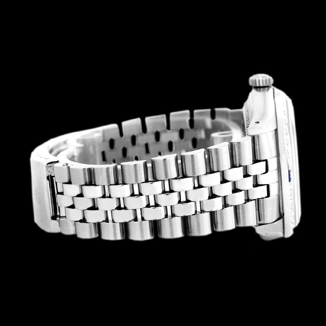 Rolex Ladies Stainless Steel, Diamond Dial & Diamond - 4