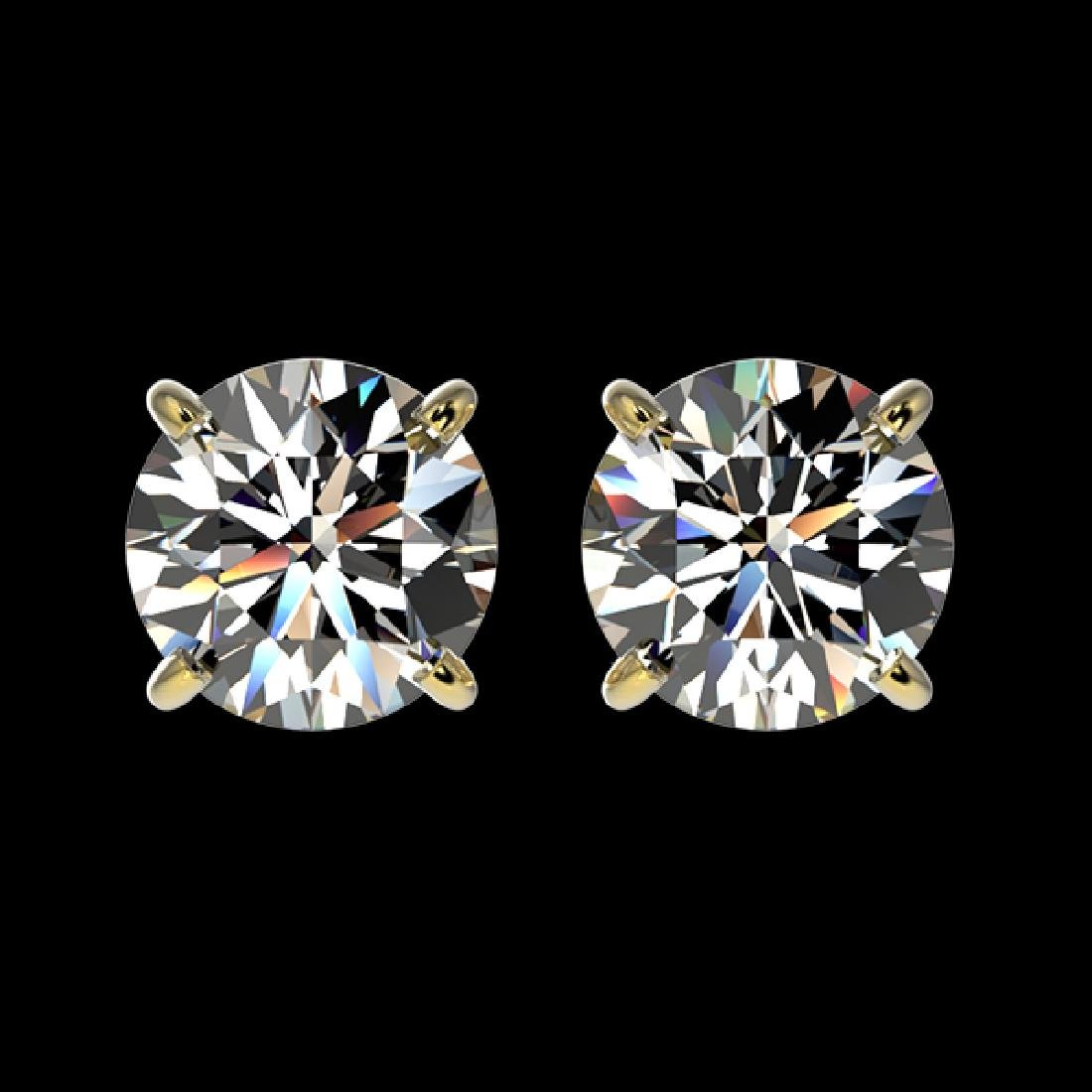 1.52 CTW Certified H-SI/I Quality Diamond Solitaire