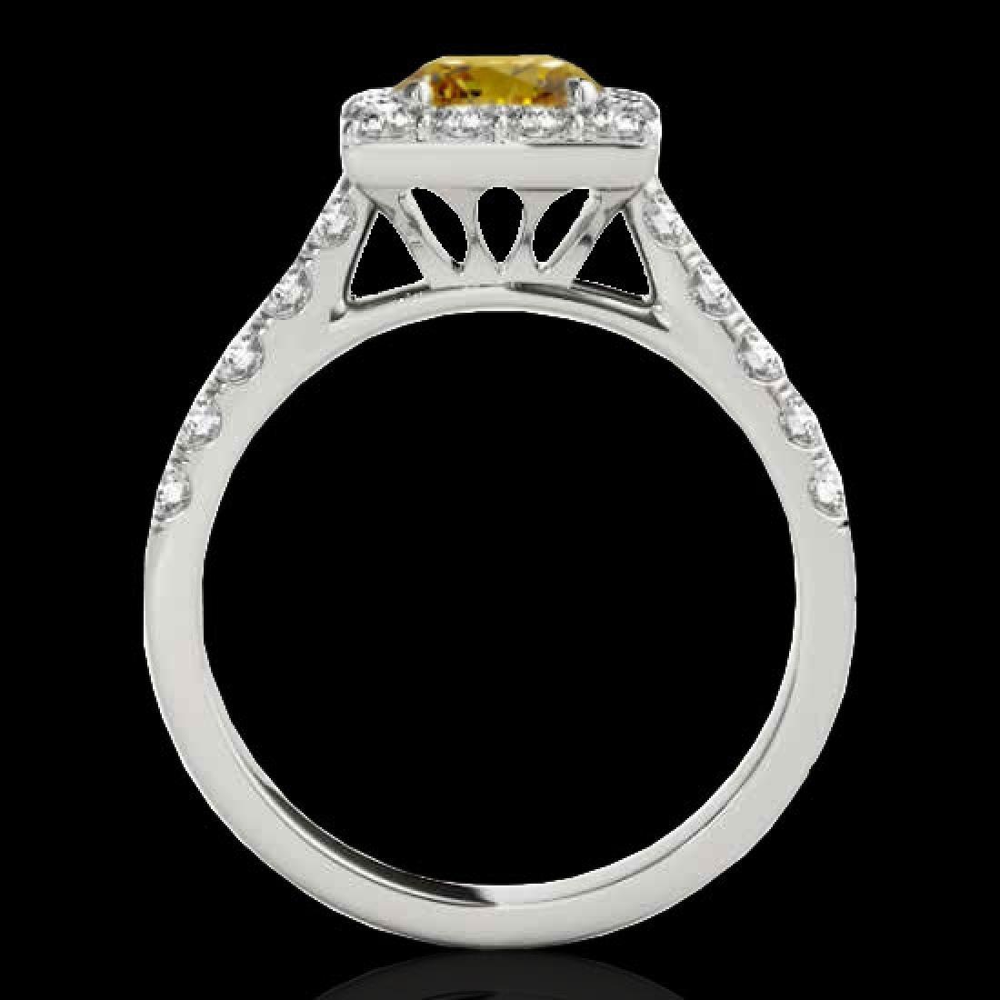 2.5 CTW Certified SI/I Fancy Intense Yellow Diamond - 2