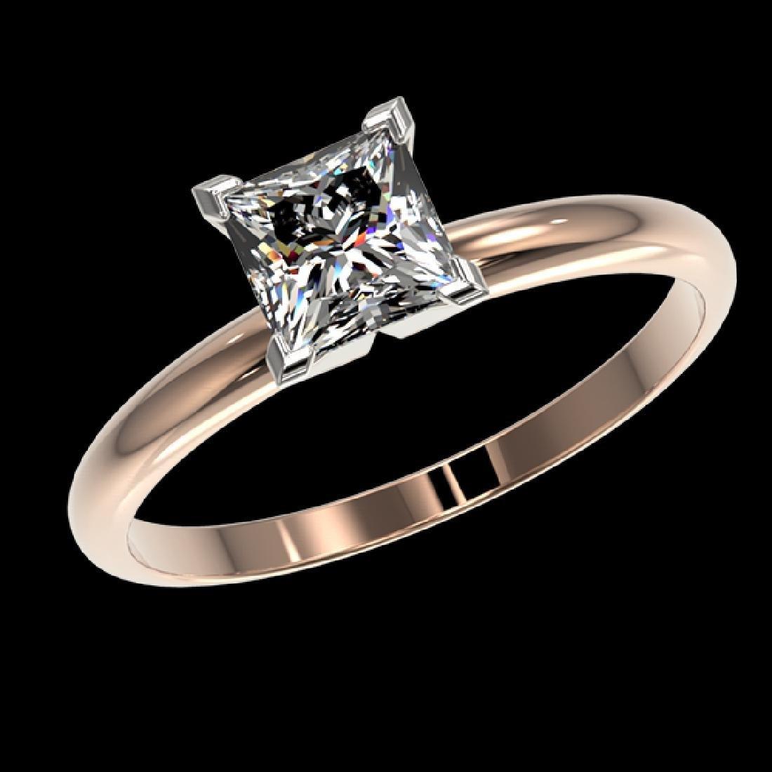 1 CTW Certified VS/SI Quality Princess Diamond - 2