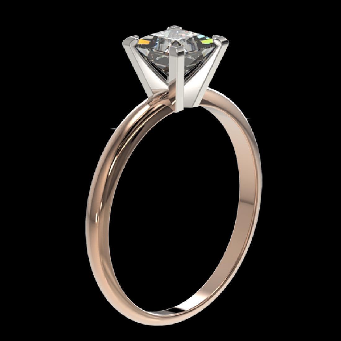1 CTW Certified VS/SI Quality Princess Diamond - 3