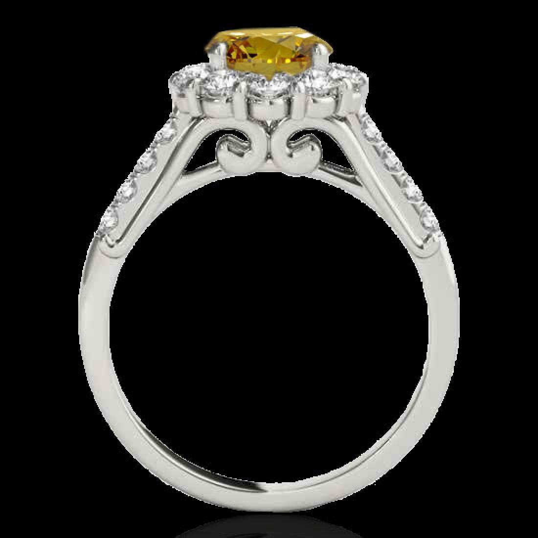 2.75 CTW Certified SI/I Fancy Intense Yellow Diamond - 2