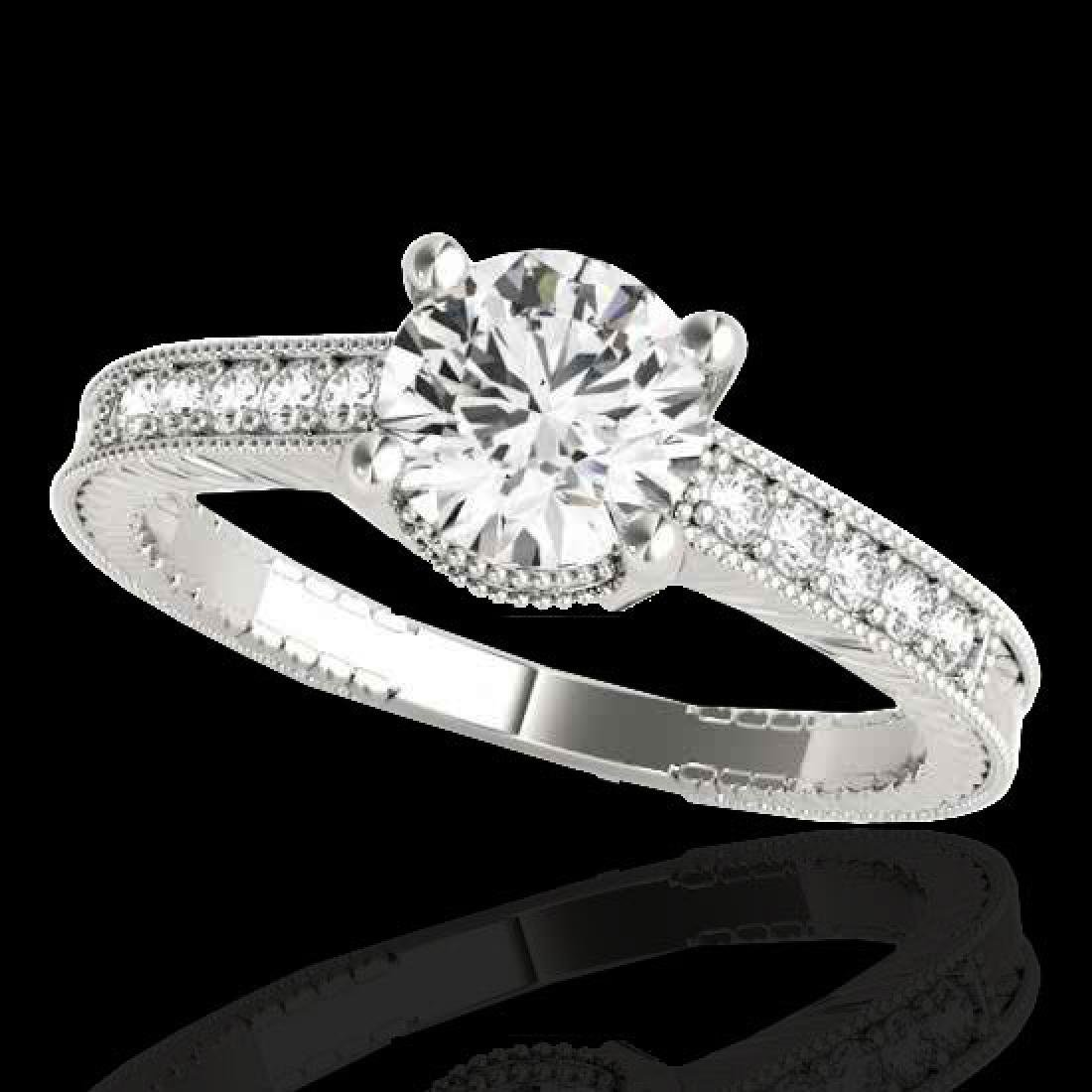 1.75 CTW H-SI/I Certified Diamond Solitaire Antique