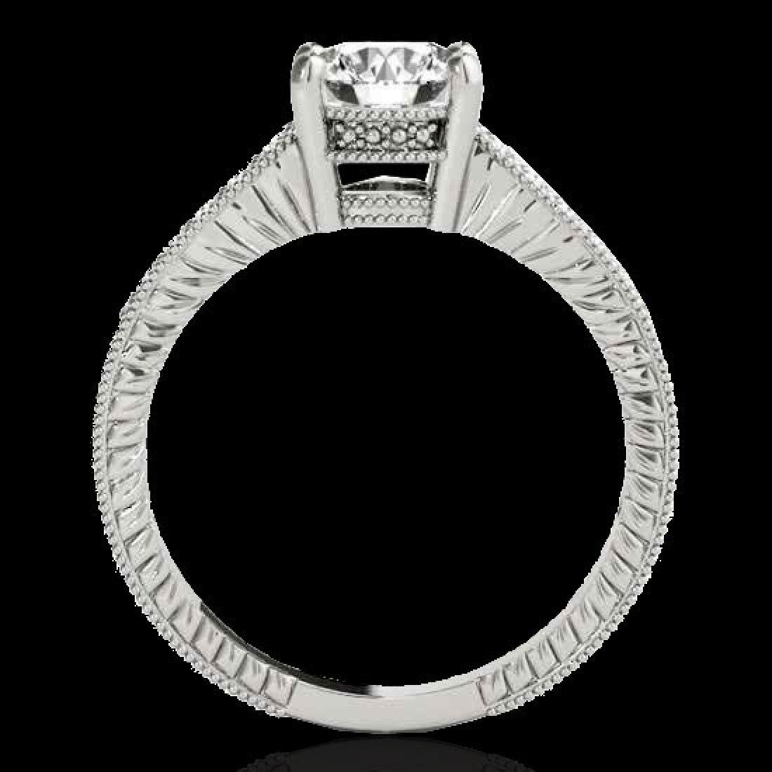 1.75 CTW H-SI/I Certified Diamond Solitaire Antique - 2