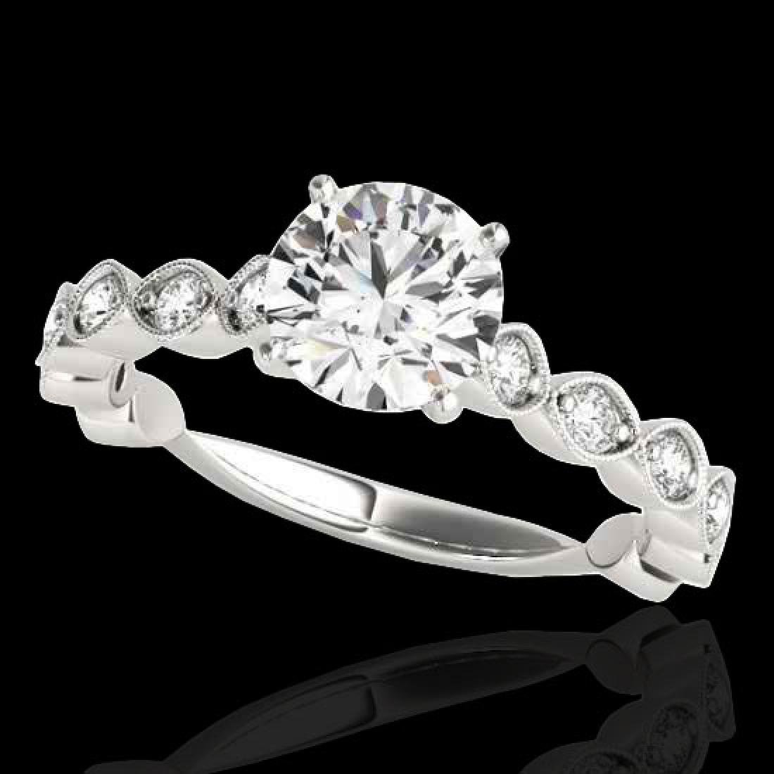 1.75 CTW H-SI/I Certified Diamond Solitaire Ring 10K