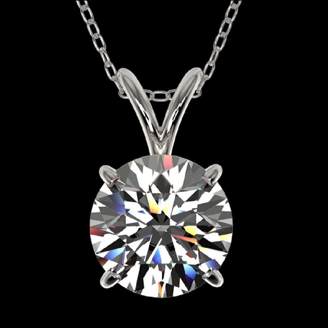 1.50 CTW Certified H-SI/I Quality Diamond Solitaire