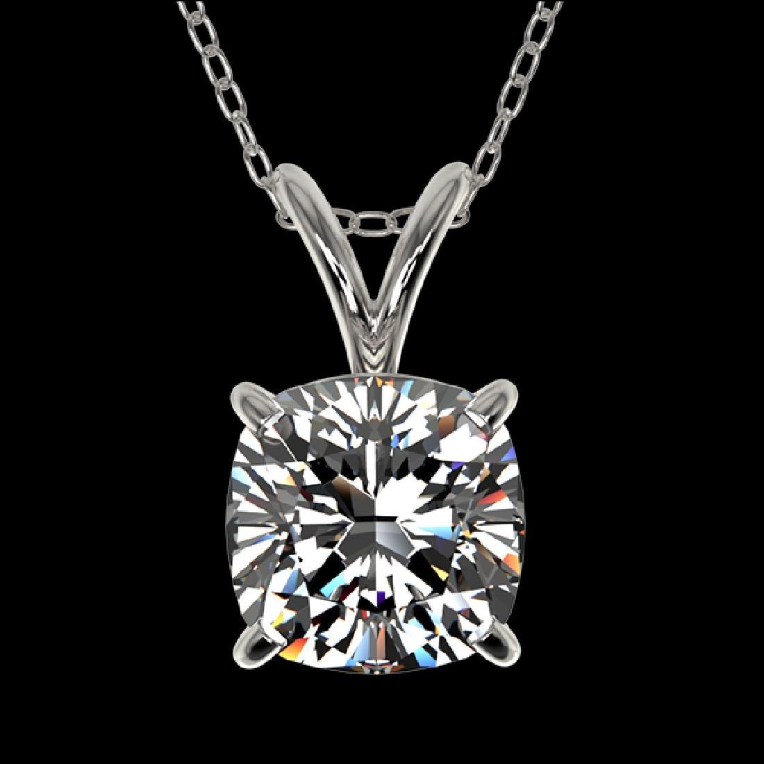 1 CTW Certified VS/SI Quality Cushion Cut Diamond