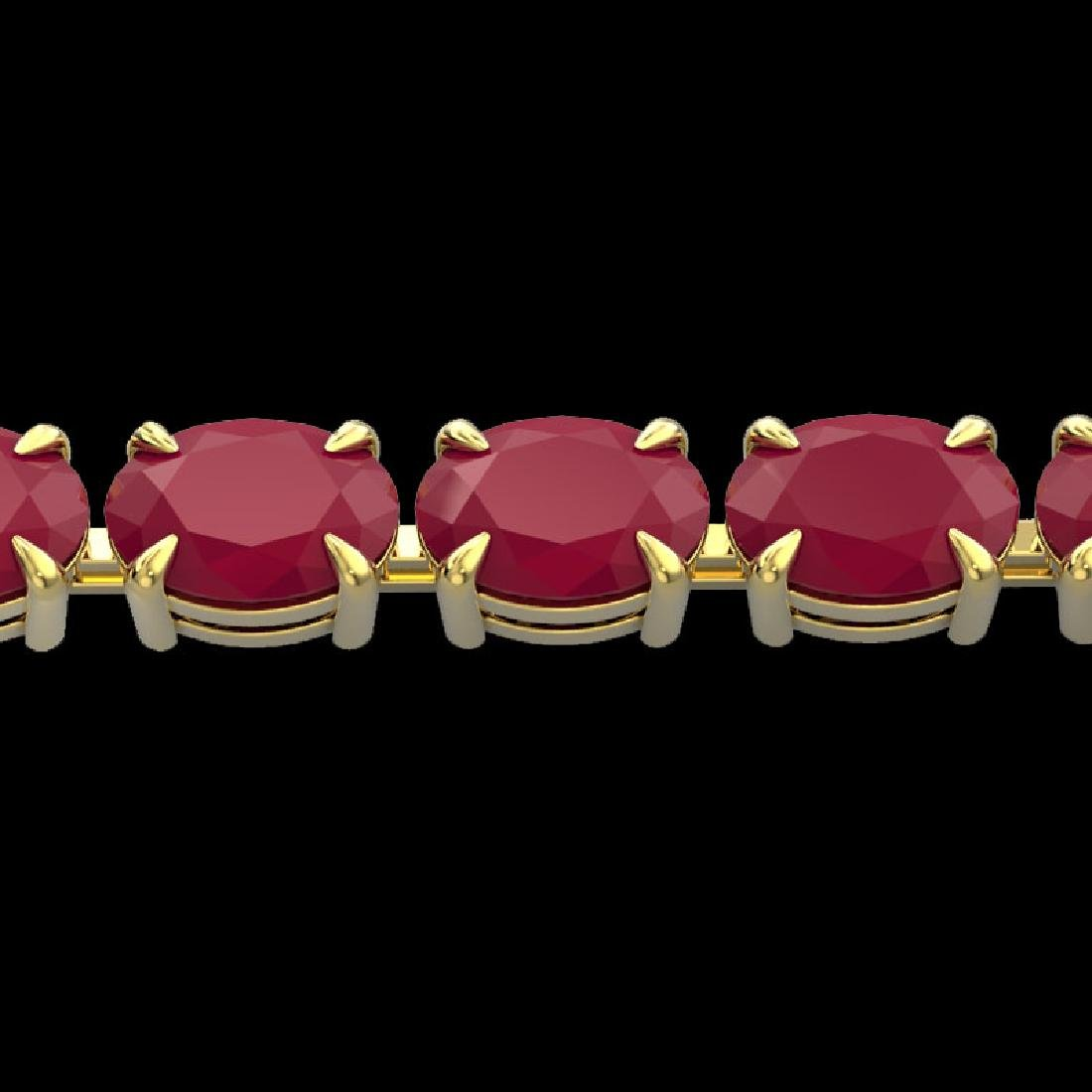29 CTW Ruby Eternity Designer Inspired Tennis Bracelet