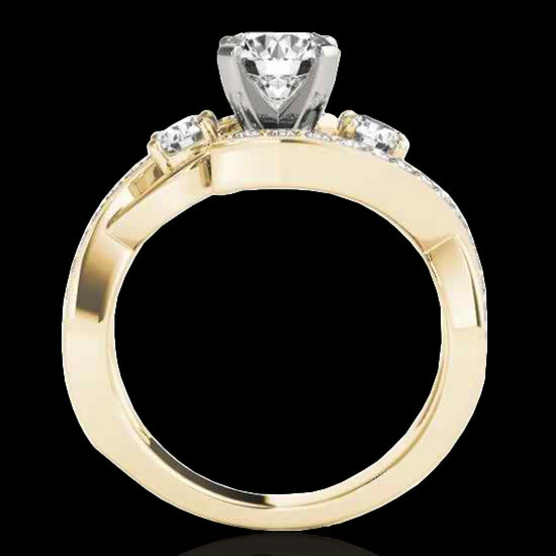 2.01 CTW H-SI/I Certified Diamond Bypass Solitaire Ring - 2