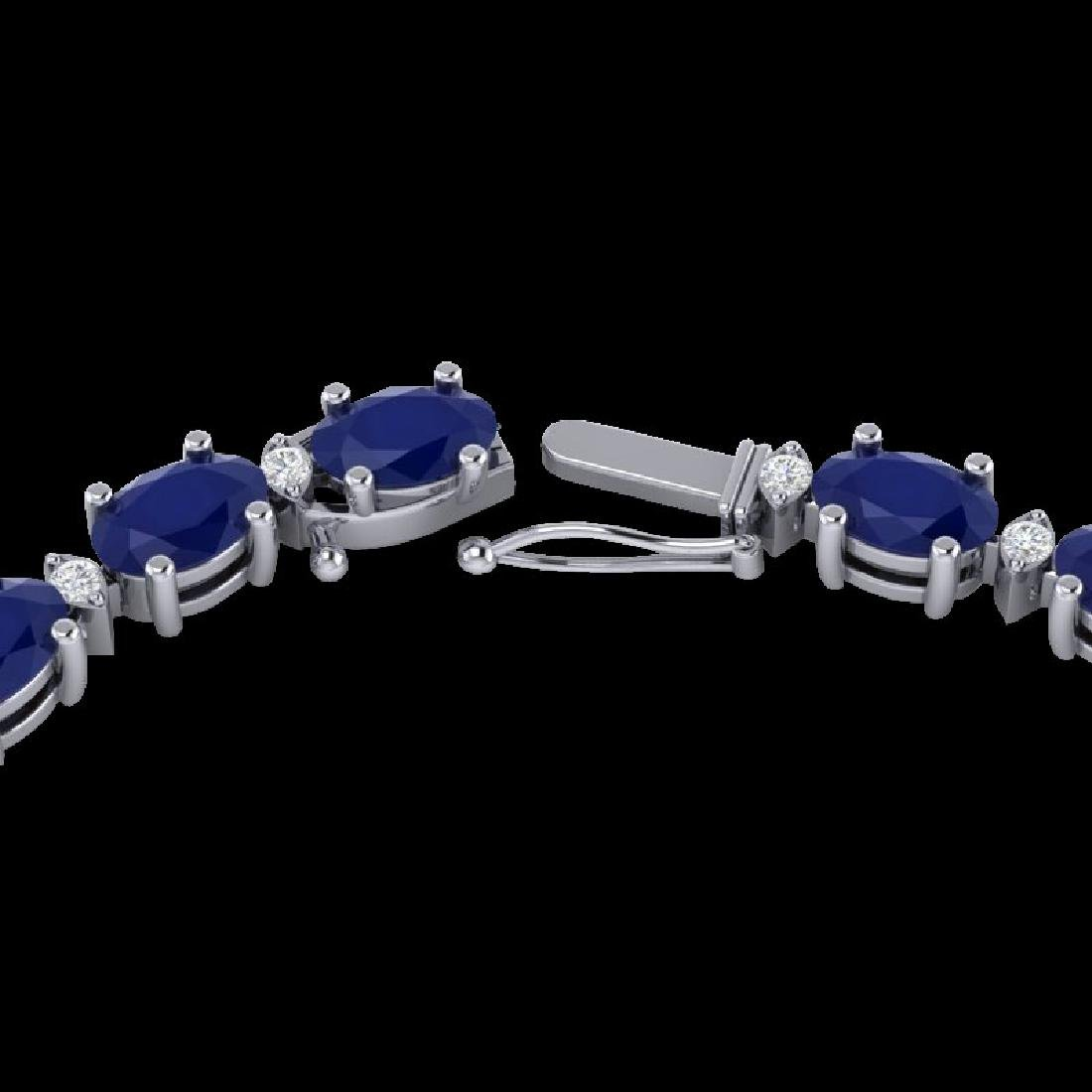 71.85 CTW Sapphire & VS/SI Certified Diamond Eternity