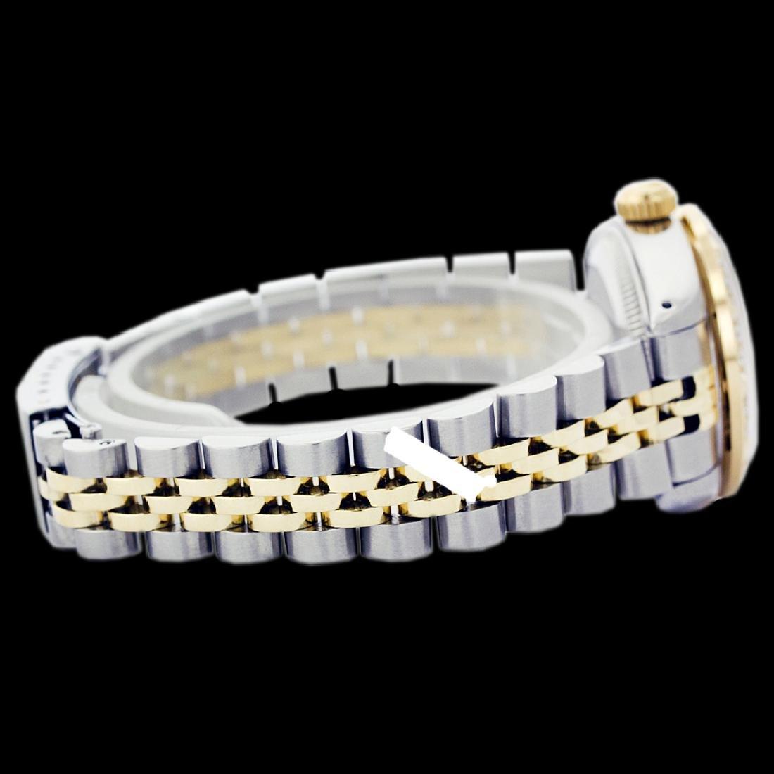 Rolex Ladies Two Tone 14K Gold/SS, Diam Dial & - 2