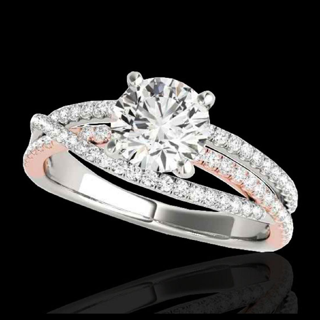1.65 CTW H-SI/I Diamond Solitaire Ring Gold -