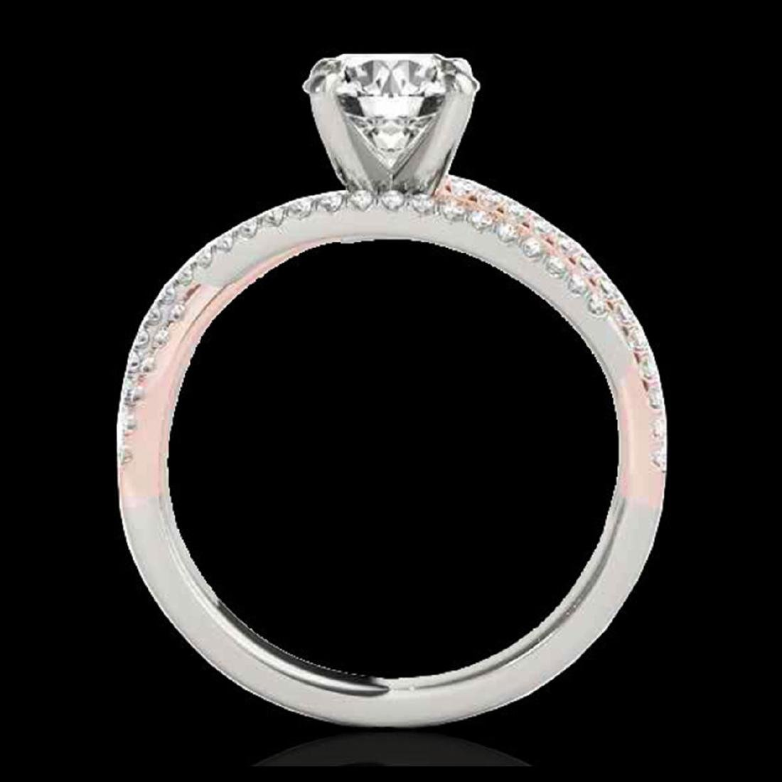 1.65 CTW H-SI/I Diamond Solitaire Ring Gold - - 2