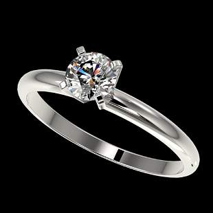 .52 ctw Certified Quality Diamond Engagement Ring 10K