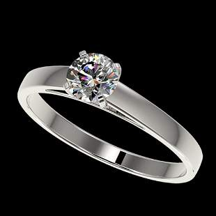.53 ctw Certified Quality Diamond Engagement Ring 10K