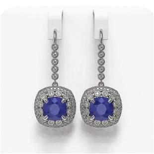 12.9 ctw Certified Sapphire & Diamond Victorian