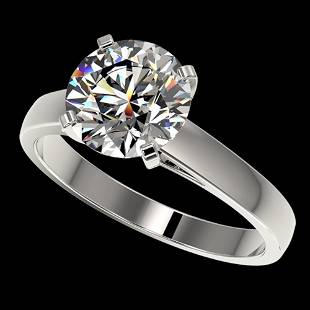 2.55 ctw Certified Quality Diamond Engagment Ring 10k