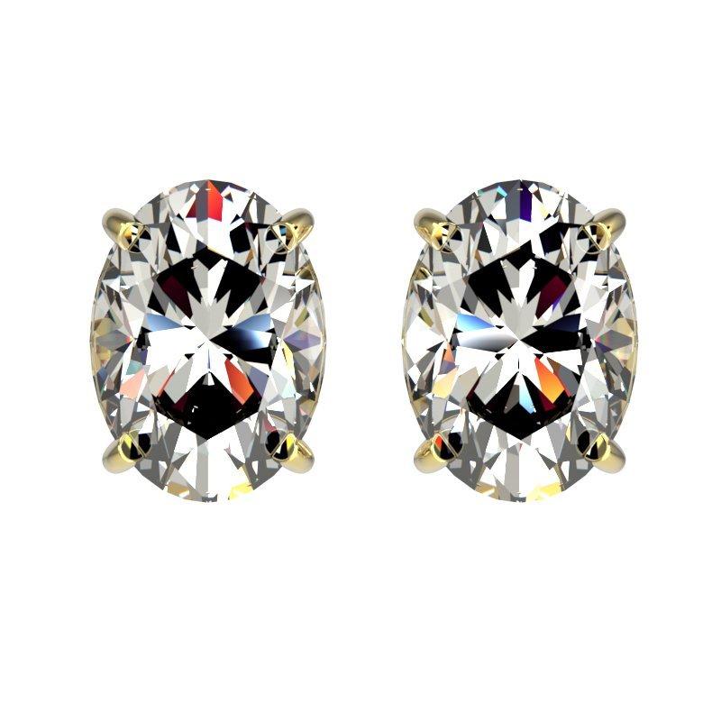 Genuine 2.0 CTW Certified Quality Oval Genuine Diamond